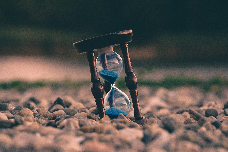 Sanduhr als Tool zum Zeit messen