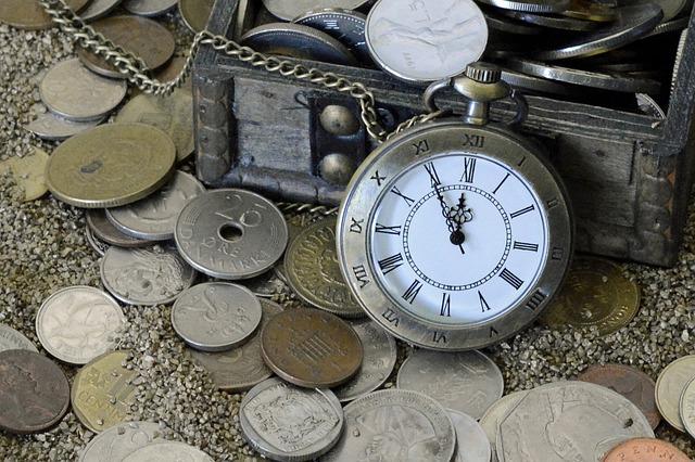 Geld ist Zeit