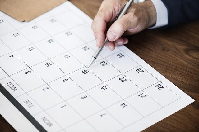 Mehr Zeit durch eine gute Wochenplanung
